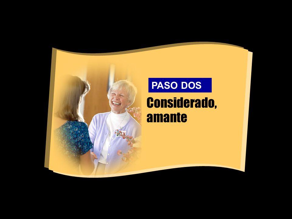Considerado, amante PASO DOS