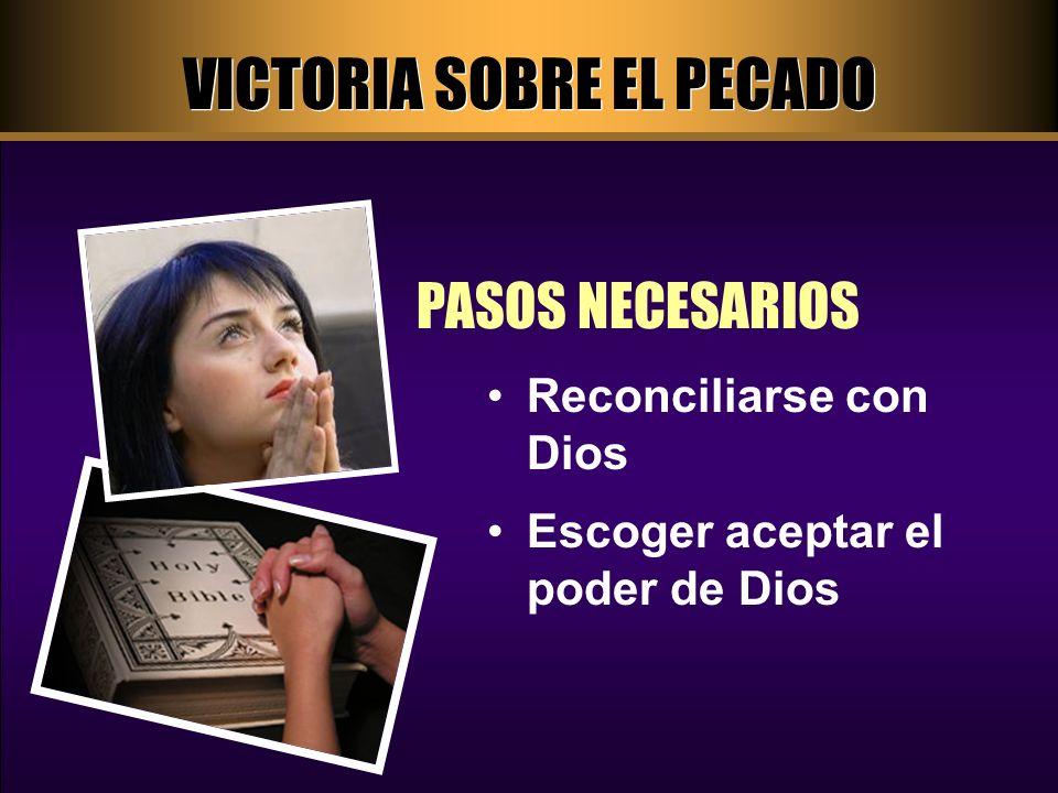 RECONCILIARSE CON DIOS PASO UNO