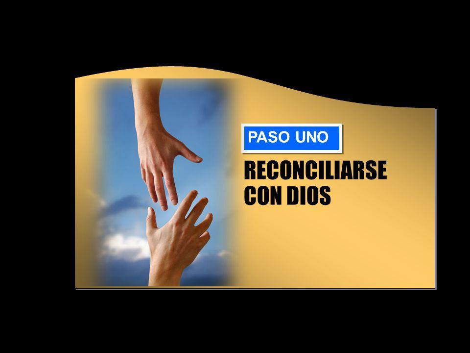 Reconciliación con Dios El pecado nos separó de Dios.