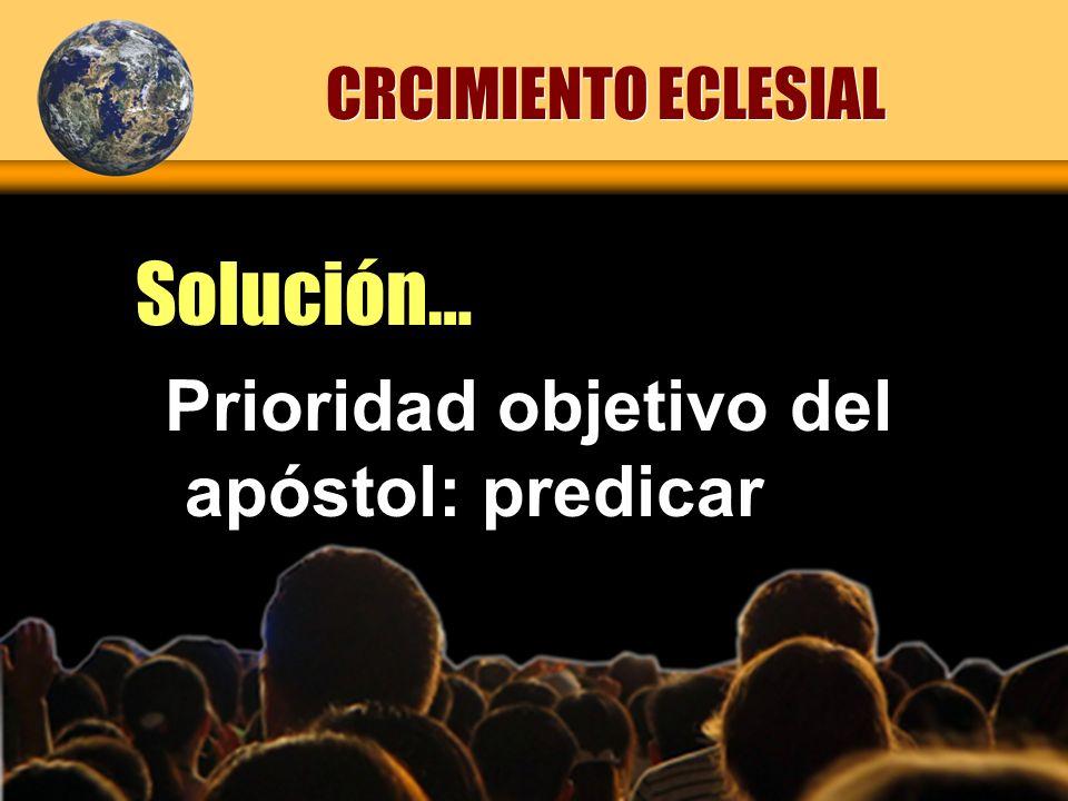 Implosión (numérica) Produjo… CRCIMIENTO ECLESIAL