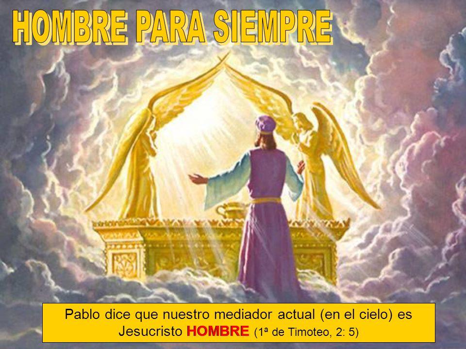 Cristo ascendió al cielo llevando una humanidad santificada y sagrada.