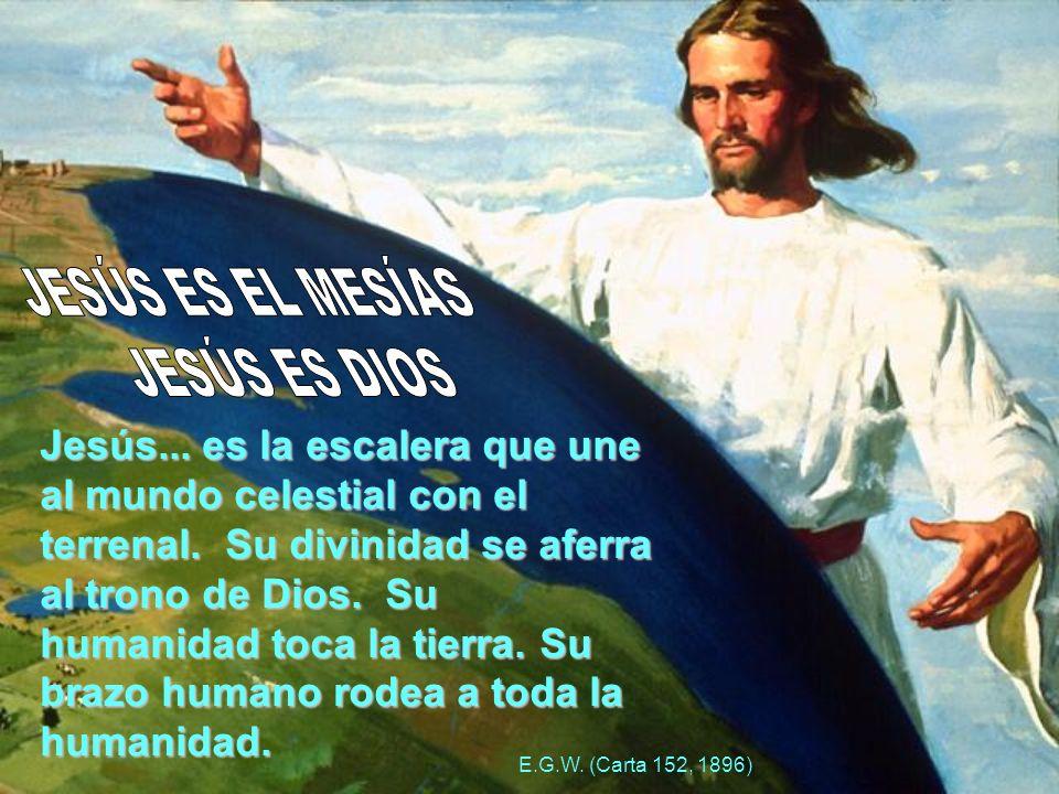 Jesús... es la escalera que une al mundo celestial con el terrenal.