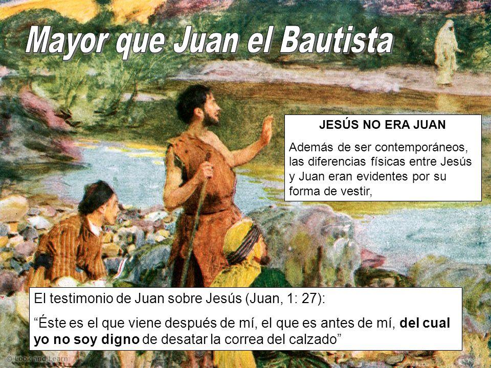 JESÚS NO ERA ELÍAS El Antiguo Testamento acaba con la promesa de la llegada de Elías, pero fue Juan el Bautista el que cumplió la misión de «Elías».