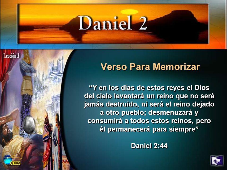 Pregunta 12 Lee la interpretación que ofrece Daniel mismo para esta visión (Dan.