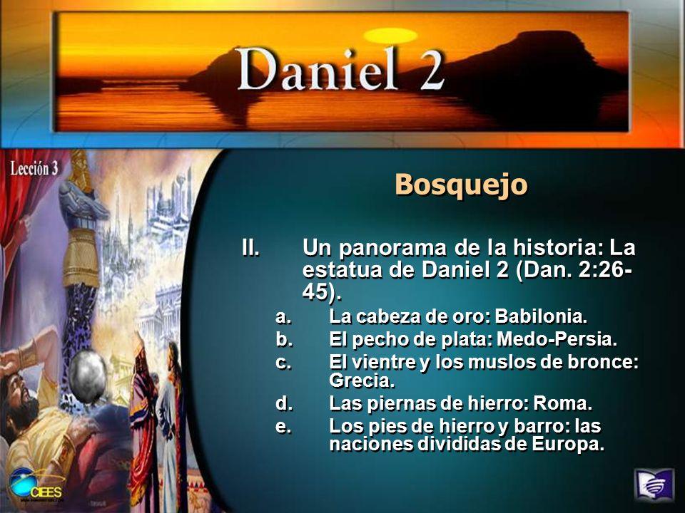 Resumen Daniel 2 expresa mucho acerca de su autor, y bosqueja el plan de redención que Dios ideó para este mundo.