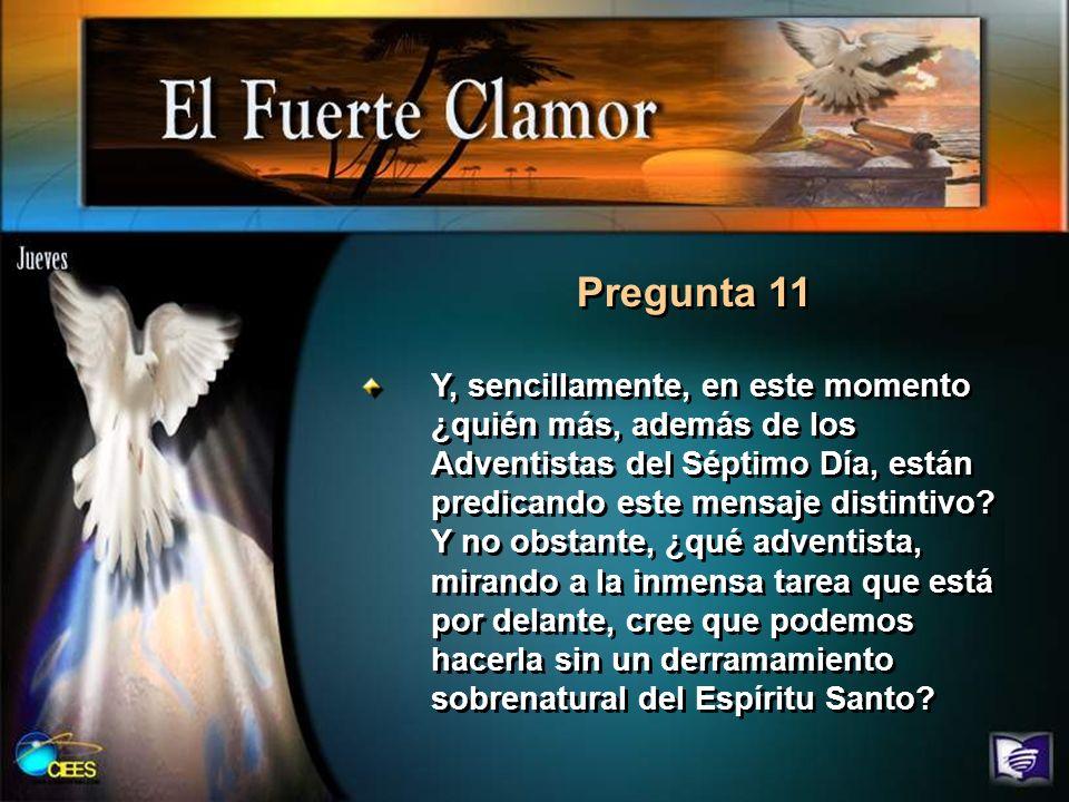 Pregunta 12 Lee Apocalipsis 18:1 al 5.