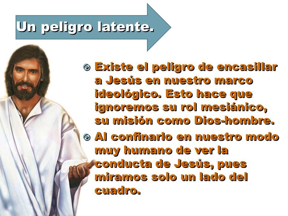 CONCLUSION Las acciones estudiadas esta semana de la conducta de Jesús son enigmáticas, no es fácil comprenderlas totalmente.