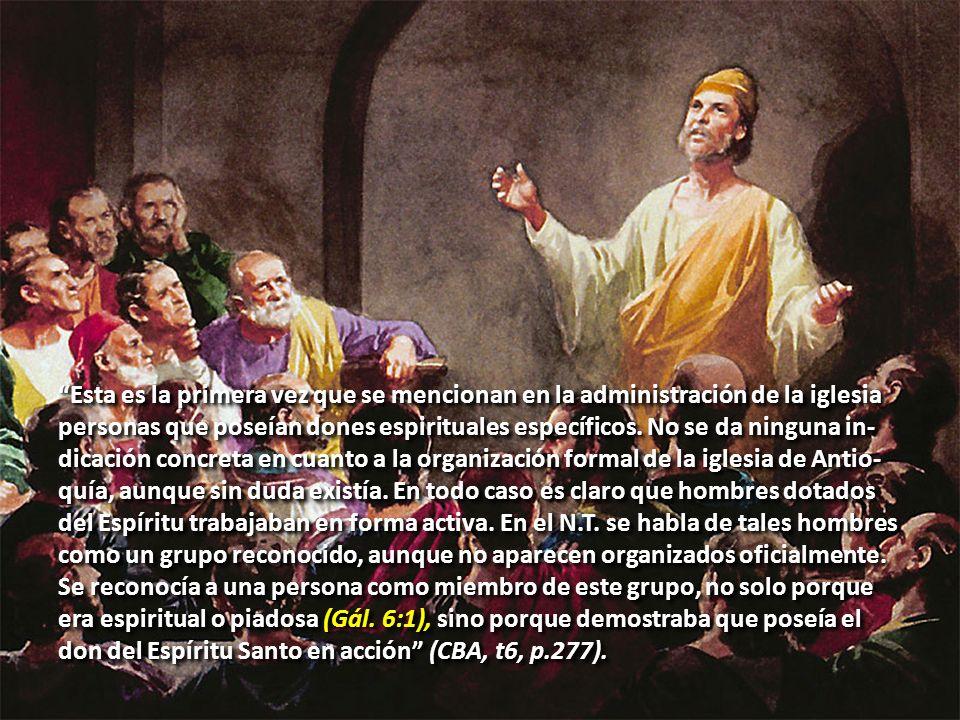 Profetas en el Campo Misionero. (Hech. 13:1) Bernabé, Simón, Lucio, Manaén y Saulo Profetas en el Campo Misionero. (Hech. 13:1) Bernabé, Simón, Lucio,