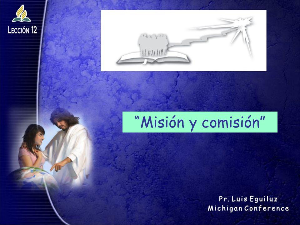Misión y comisión