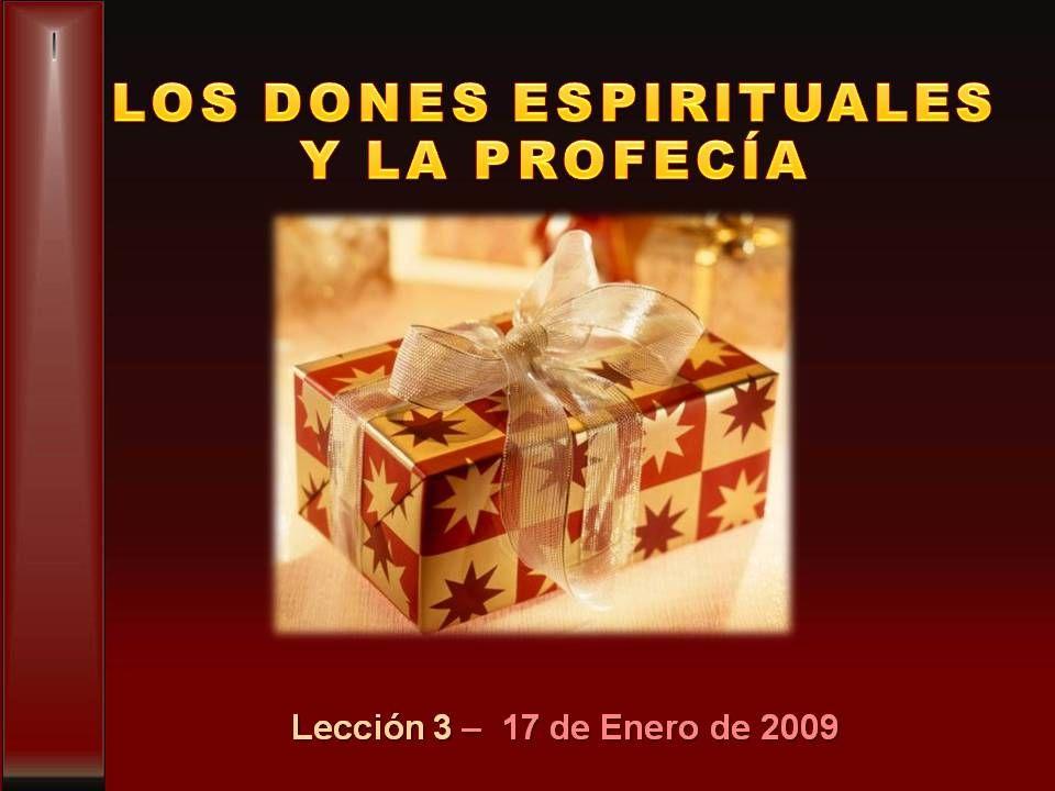 Lección 3 – 17 de Enero de 2009