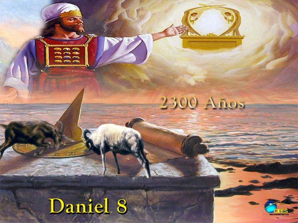 Pregunta 7 La visión de Daniel 8:14 termina con la purificación del Santuario después de una descripción de la actividad del cuerno pequeño en cierto período histórico.