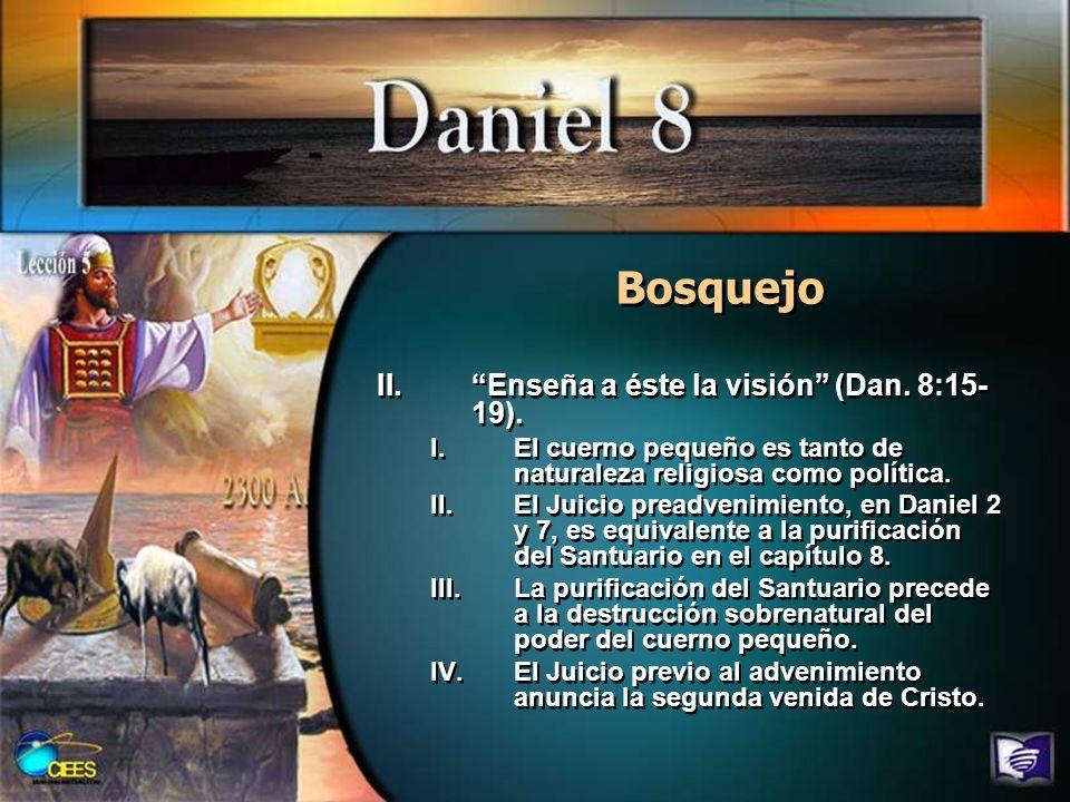 Resumen Daniel 8 debe ser interpretado a la luz de los capítulos previos en el libro de Daniel y sus interpretaciones.