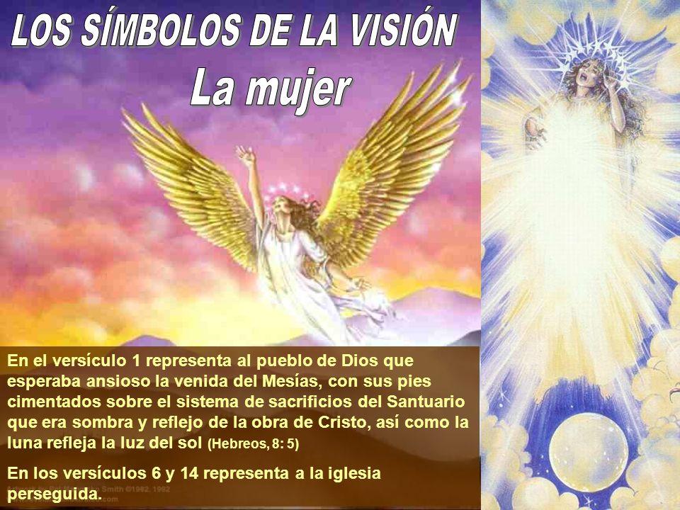 En el versículo 1 representa al pueblo de Dios que esperaba ansioso la venida del Mesías, con sus pies cimentados sobre el sistema de sacrificios del