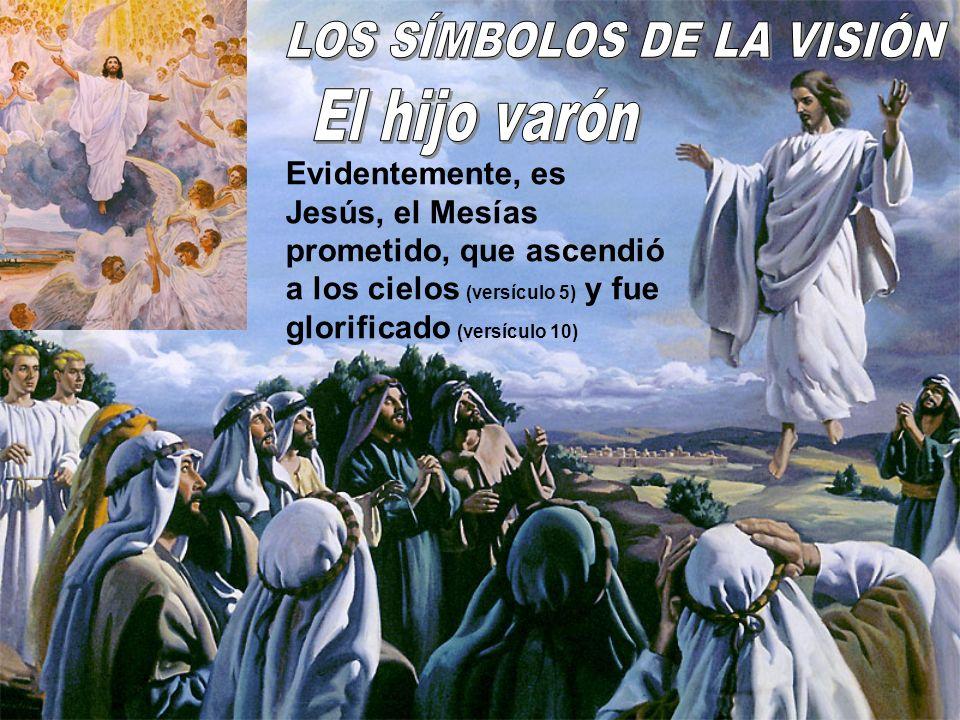 Evidentemente, es Jesús, el Mesías prometido, que ascendió a los cielos (versículo 5) y fue glorificado (versículo 10)