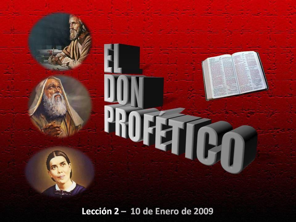 Lección 2 – 10 de Enero de 2009
