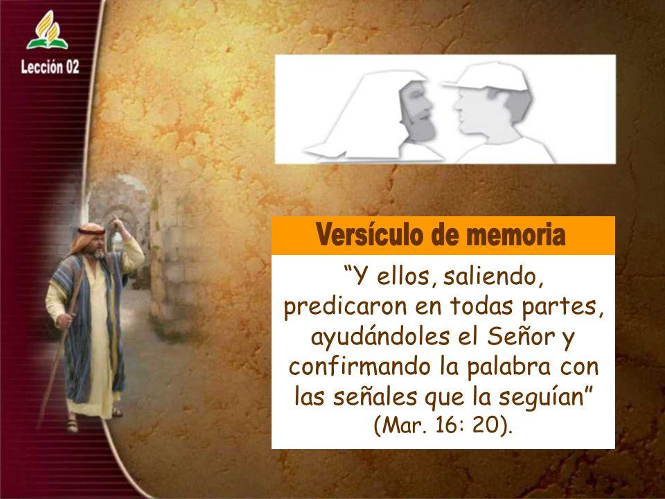 El discípulo de hoy no es menos que el discípulo en el tiempo de Jesús. Pensamiento Clave
