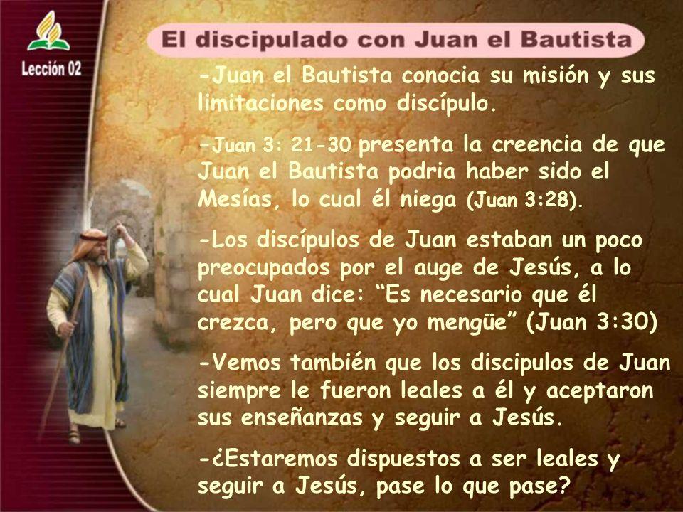 -Desde el comienzo de su ministerio Jesús tuvo discípulos.