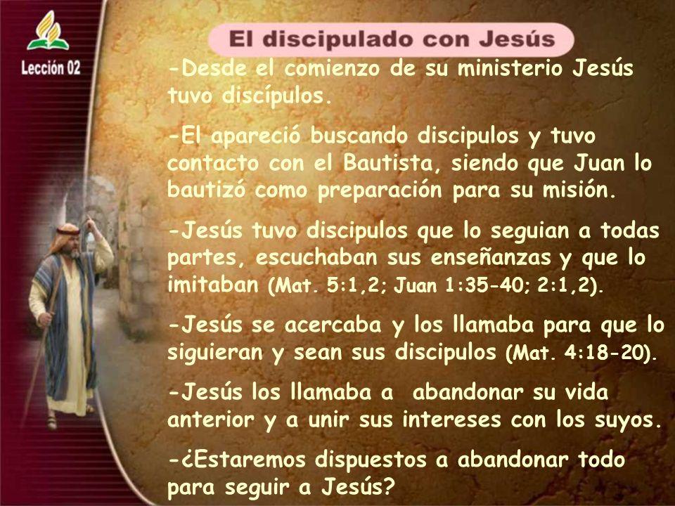 -Los discípulos de Jesús recibieron la confirmación de su obra por el mismo Jesús por medio de señales (Marc.