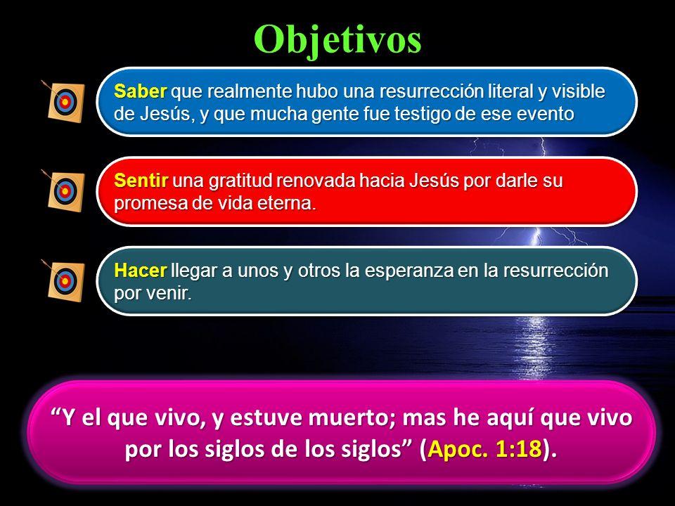 Bosquejo de la Lección La historia de la Resurrección El poder de un movimiento Autoridad para testificar Nuestra propia Resurrección El poder de su Resurrección