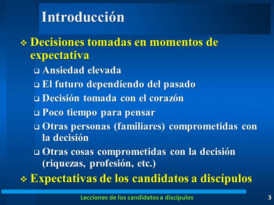 Introducción Decisiones tomadas en momentos de expectativa Decisiones tomadas en momentos de expectativa Ansiedad elevada Ansiedad elevada El futuro d