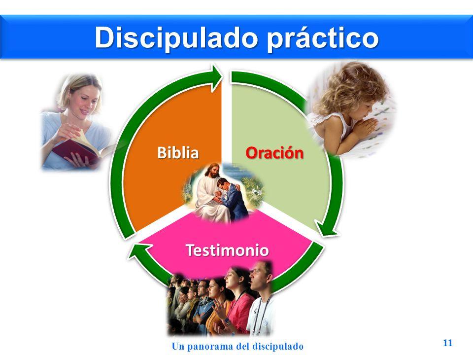 Discipulado práctico Oración Testimonio Biblia 11 Un panorama del discipulado
