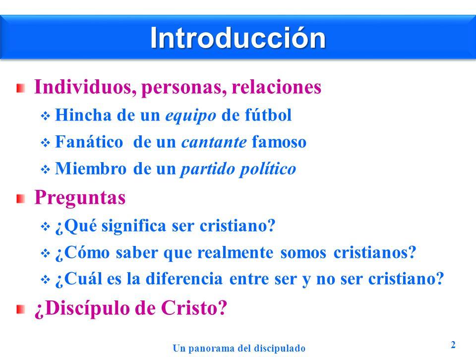 IntroducciónIntroducción Individuos, personas, relaciones Hincha de un equipo de fútbol Fanático de un cantante famoso Miembro de un partido político