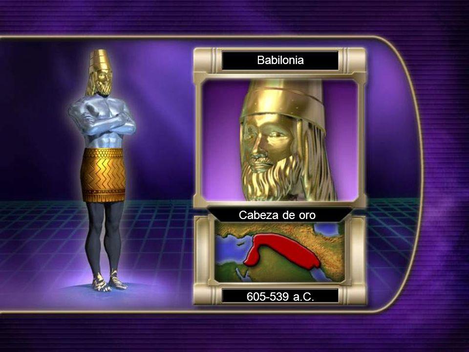 Babilonia Cabeza de oro 605-539 a.C.