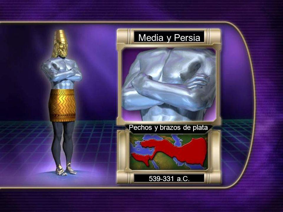 Media y Persia Pechos y brazos de plata 539-331 a.C.