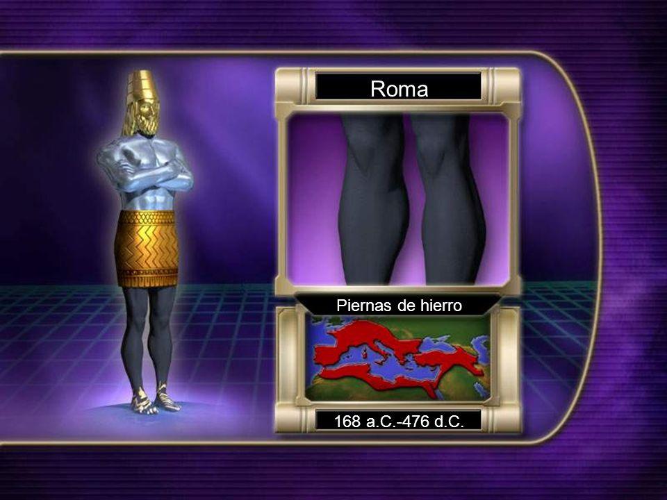 Roma Piernas de hierro 168 a.C.-476 d.C.