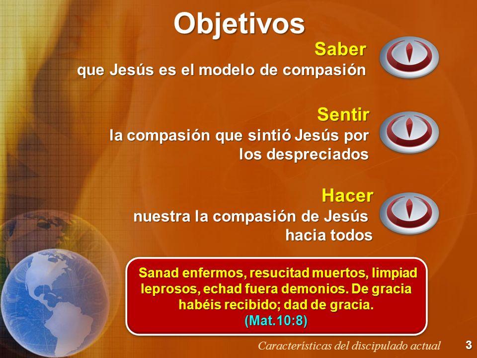 BosquejoCompasión Marginados Globalización Iglesia Oración