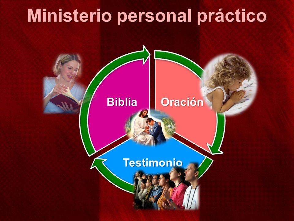 Oración Testimonio Biblia Ministerio personal práctico