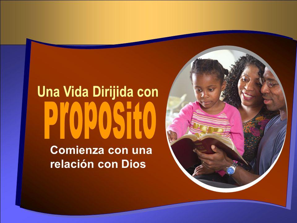 Una Vida Dirijida con Comienza con una relación con Dios