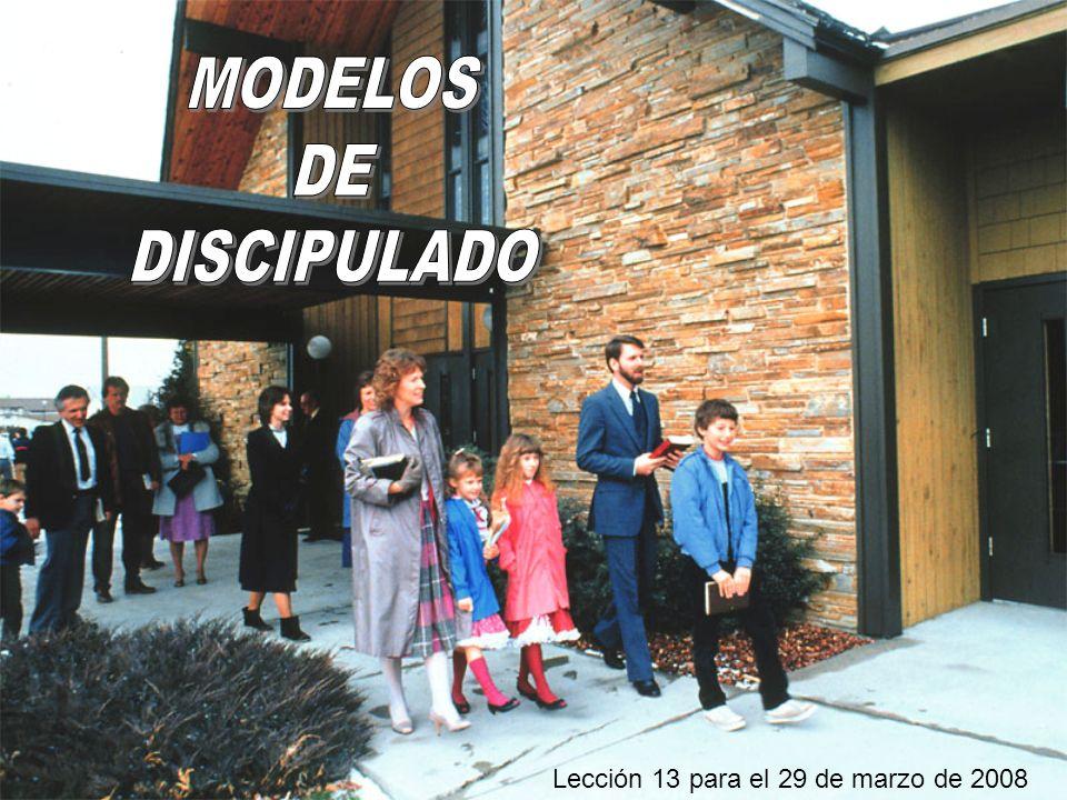 Lección 13 para el 29 de marzo de 2008