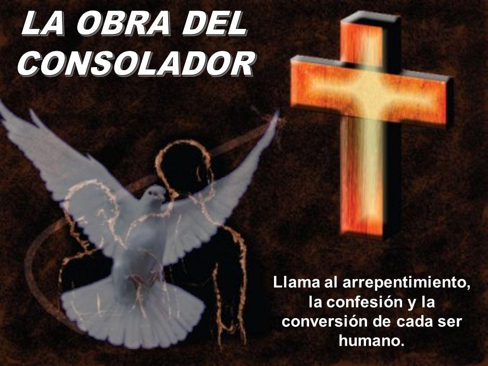 Llama al arrepentimiento, la confesión y la conversión de cada ser humano.