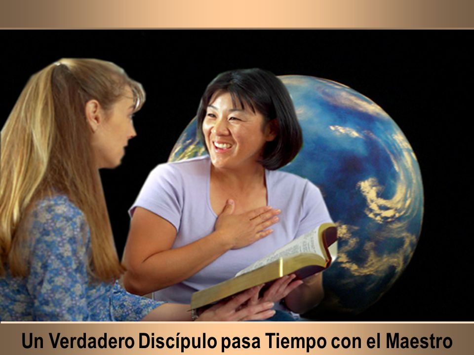 Un Verdadero Discípulo pasa Tiempo con el Maestro