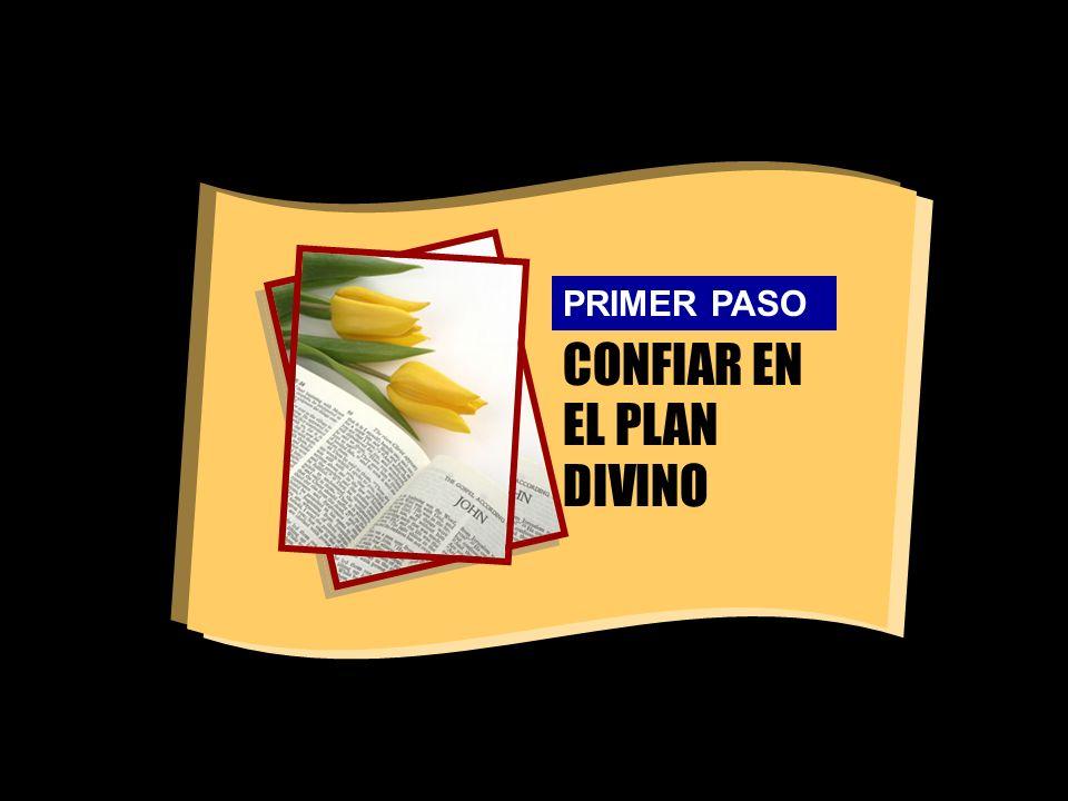 CONFIAR EN EL PLAN DIVINO PRIMER PASO