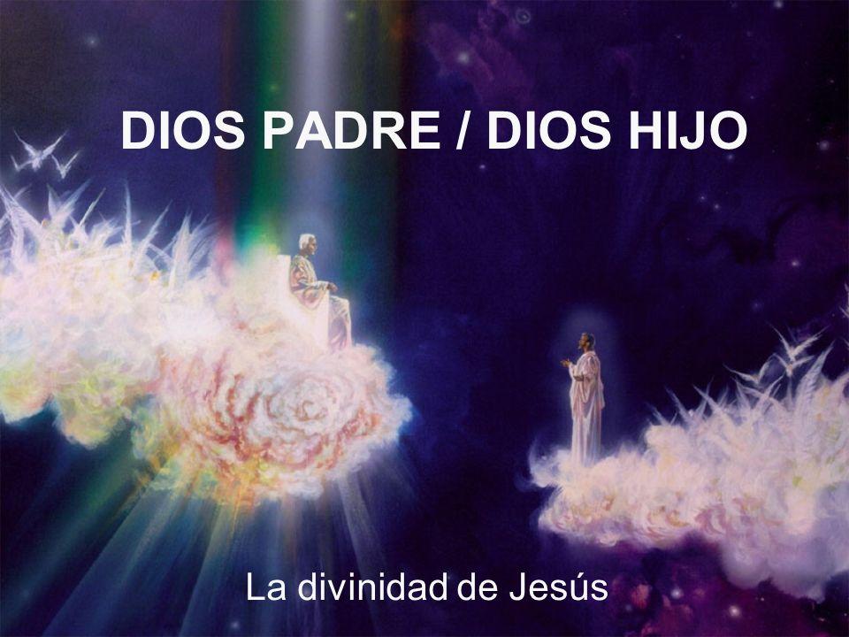 DIOS PADRE / DIOS HIJO La divinidad de Jesús