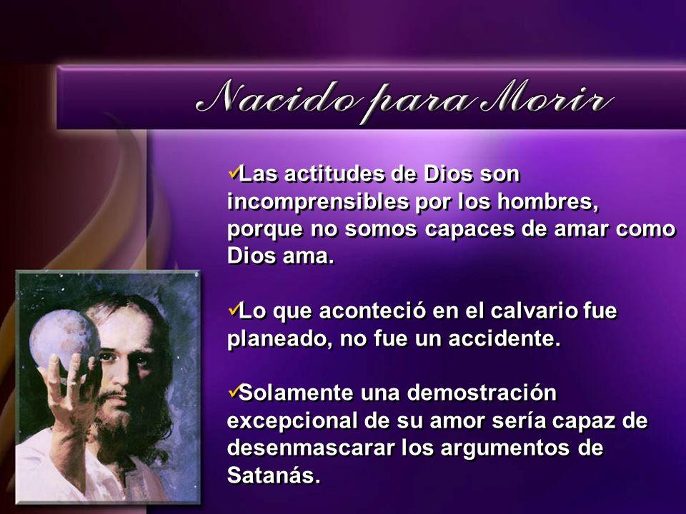Pregunta: ¿ Por qué Jesús murió en una cruz, con tanto sufrimiento y dolor?