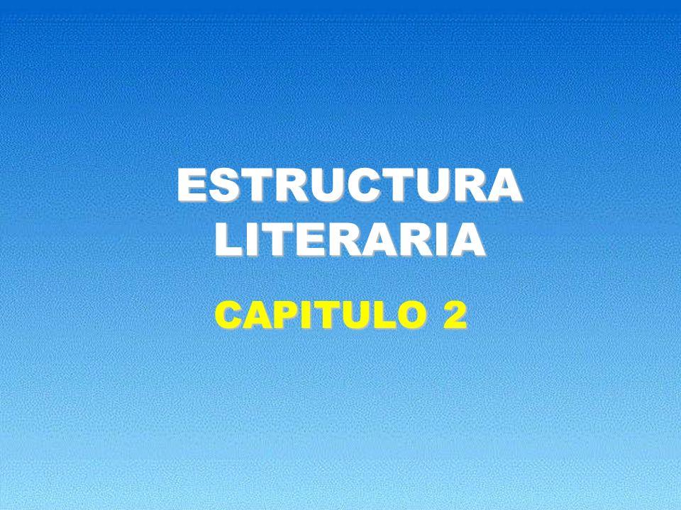 ESTRUCTURA LITERARIA CAPITULO 2