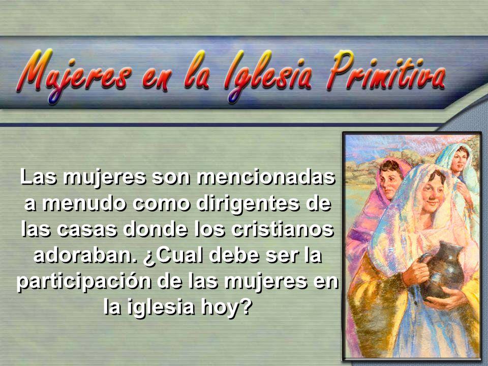 1.Lidia, la primera convertida en Europa, abrió su casa para los apóstoles y suministró la base de la cual los apóstoles predicaron en el área.