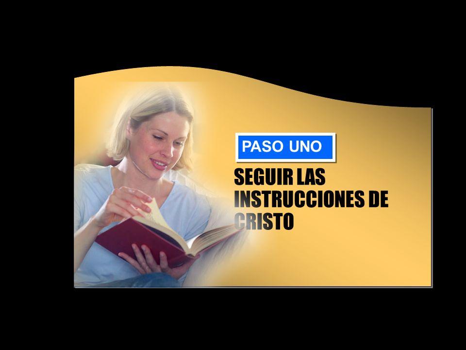 INSTRUCCIONES DE CRISTO El reino de los cielos está donde está Jesús.