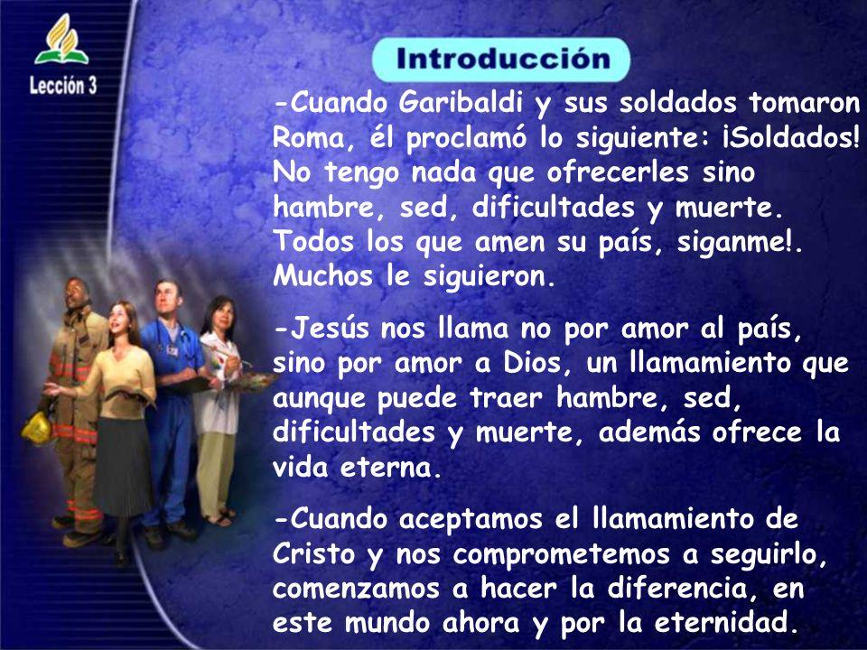 - Juan 1:35 al 51 relata el llamamiento de Jesús a sus primeros discipulos.