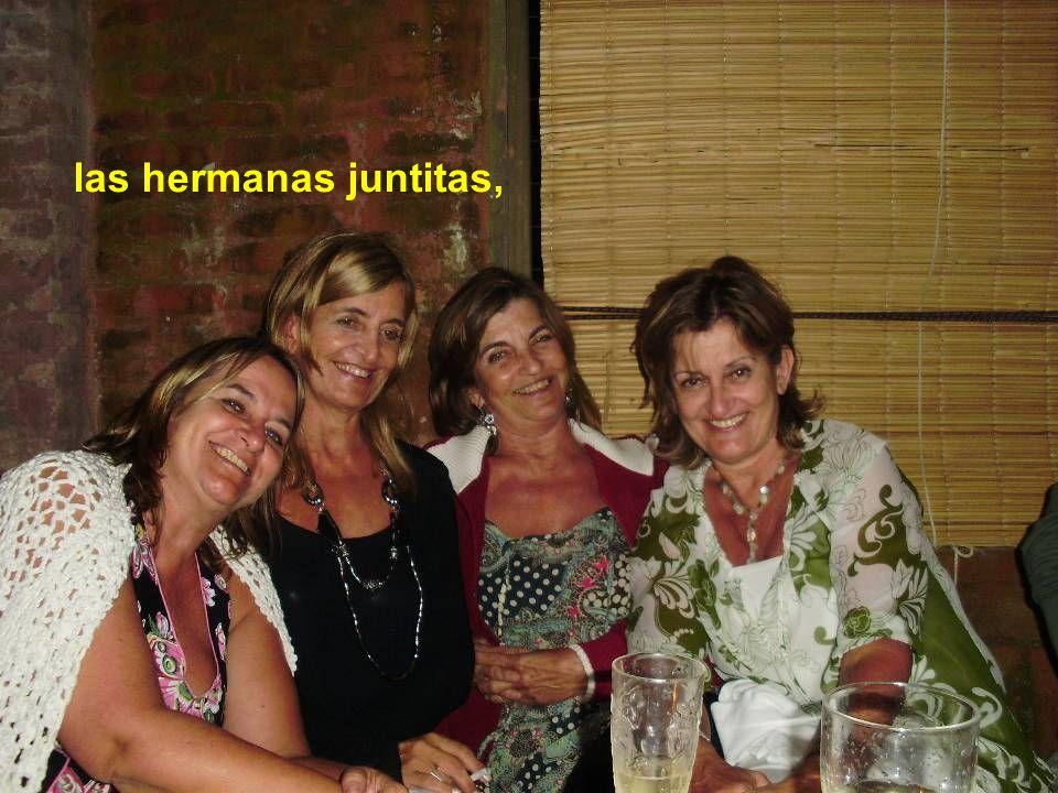 las hermanas juntitas,
