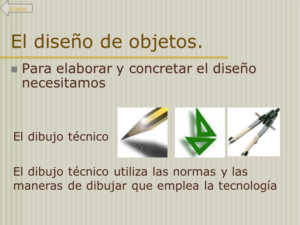 El diseño de objetos.