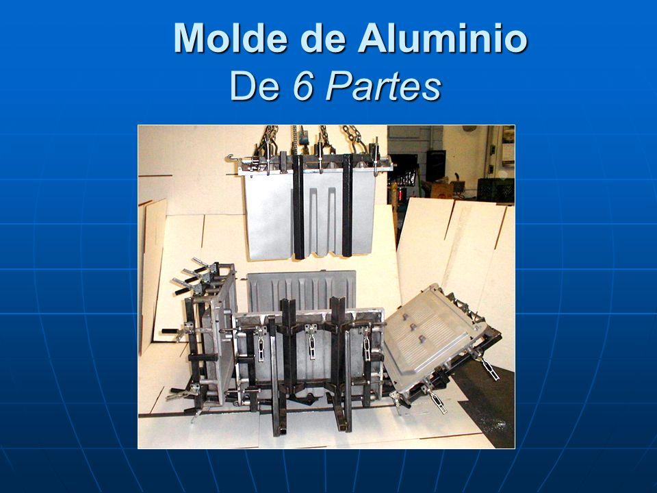 Molde de Aluminio De 6 Partes Molde de Aluminio De 6 Partes