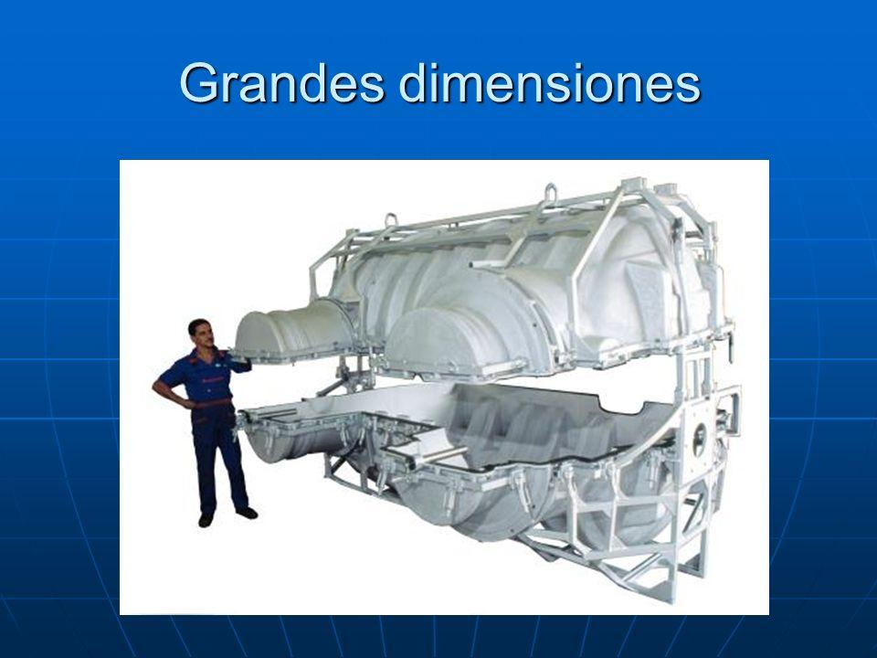 Grandes dimensiones