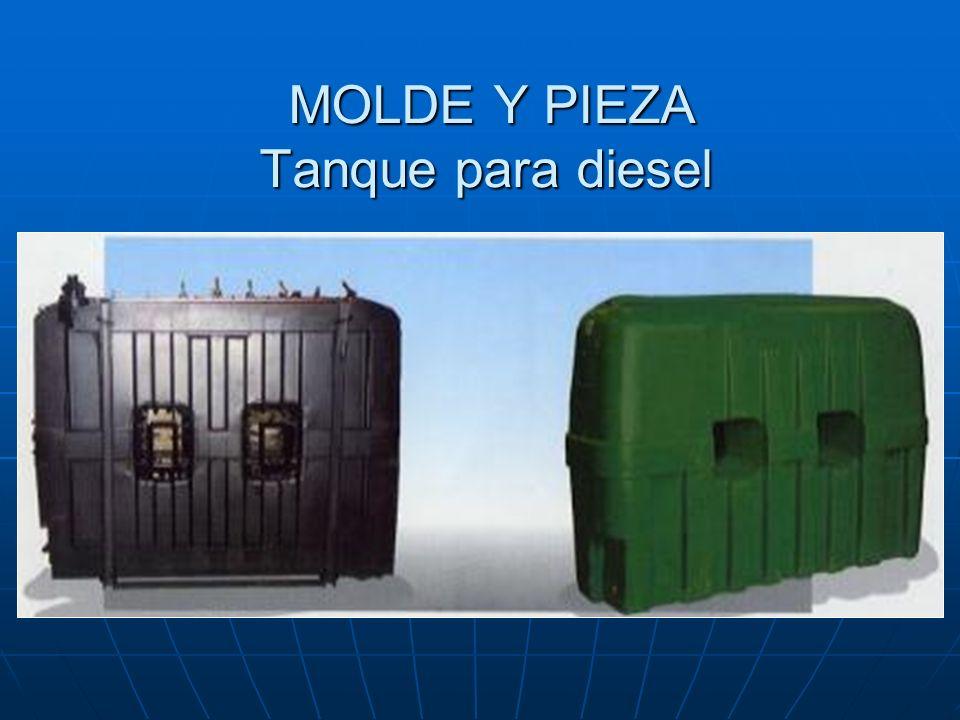 MOLDE Y PIEZA Tanque para diesel MOLDE Y PIEZA Tanque para diesel