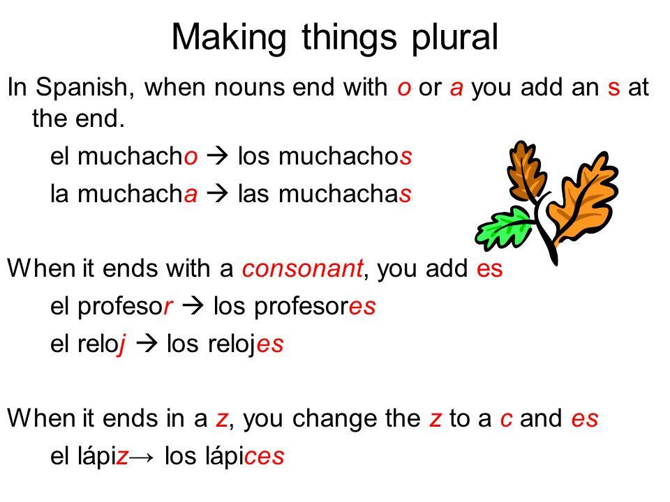 La Práctica I 1.la clase________________ 2.el amigo_______________ 3.el español______________ 4.el amigo francés______________ 5.el chico popular________________ Las clases Los amigos los españoles los amigos franceses los chicos populares