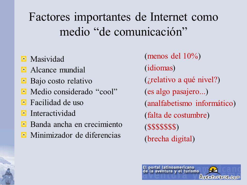 4 Radio TV Internet 38 13 Años en tener 50M de usuarios Dpto.