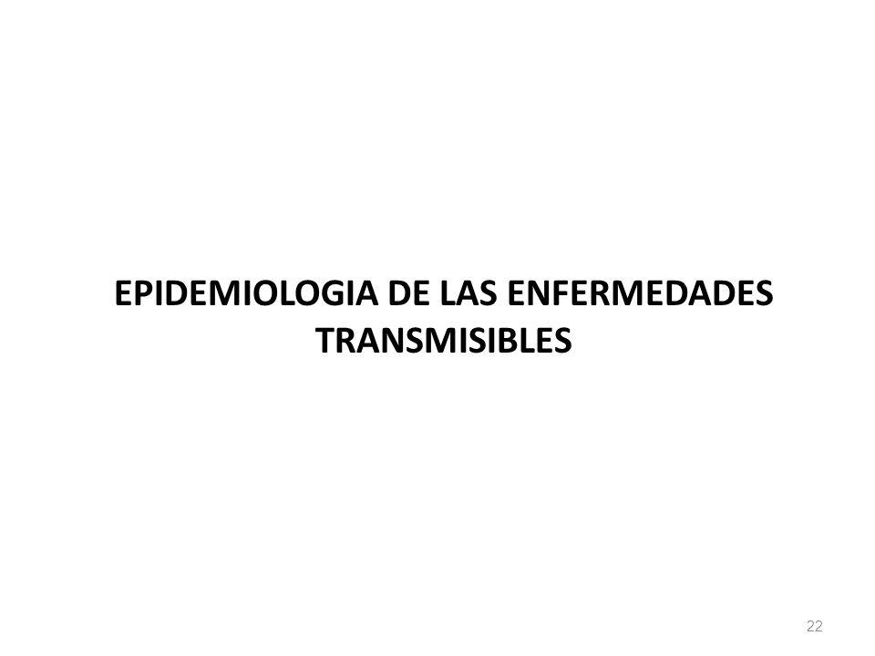 EPIDEMIOLOGIA DE LAS ENFERMEDADES TRANSMISIBLES 22